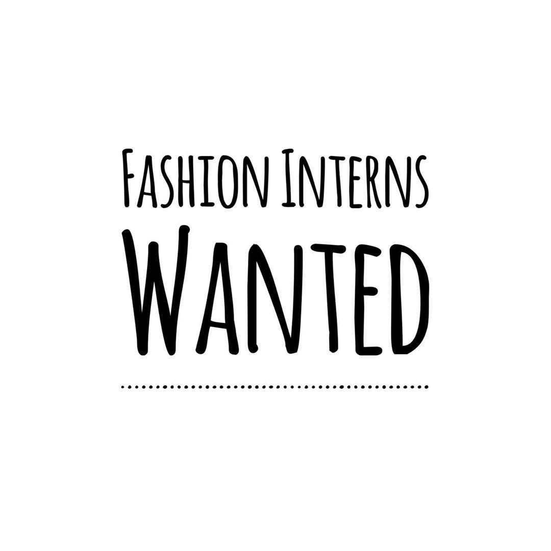Fashion Interns Needed At Cottonloops Amx