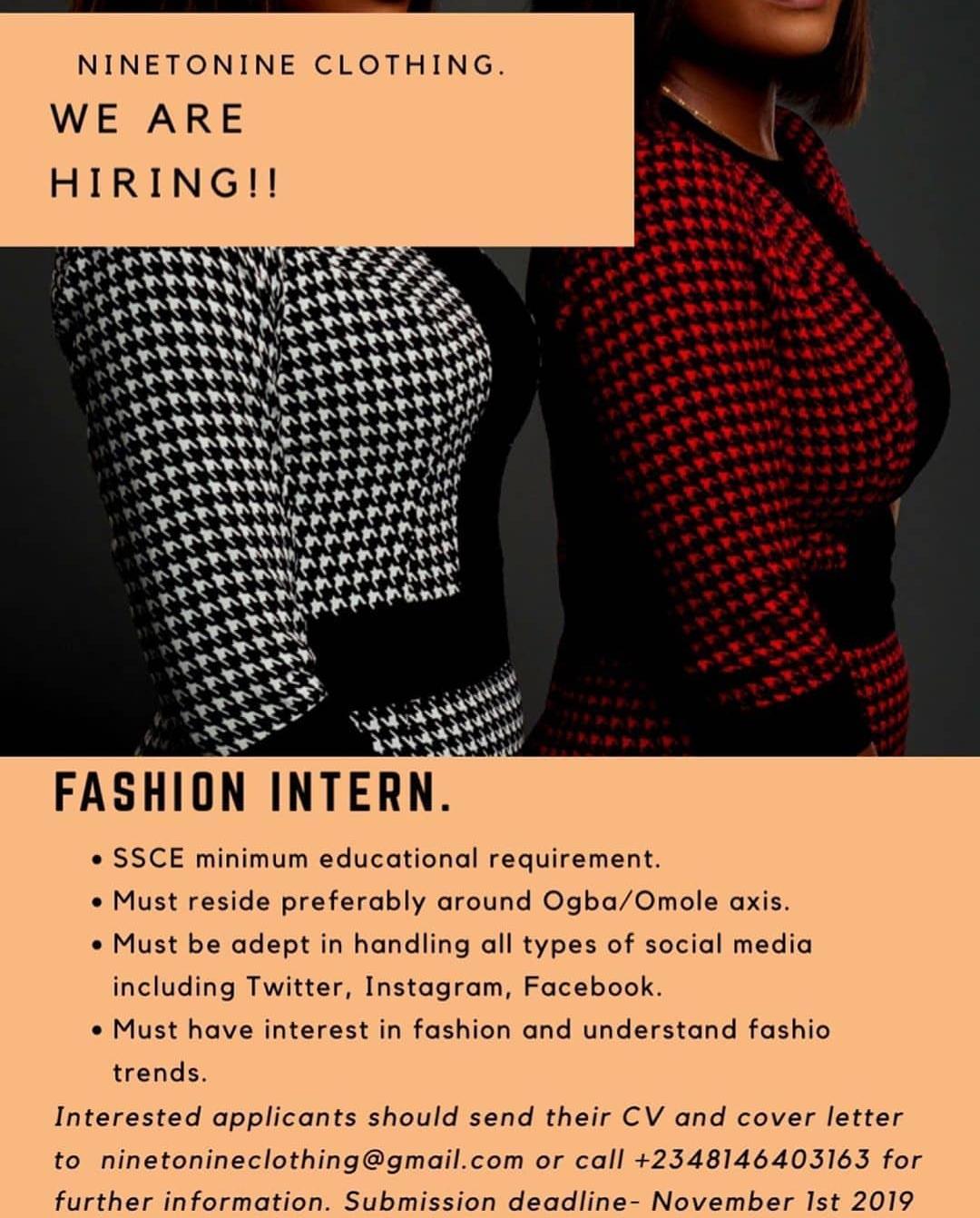 Fashion Intern Amx